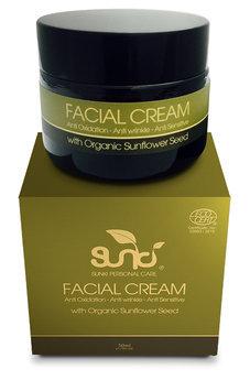 Sunki - Facial Cream with Organic Sunflower Seed 50ml