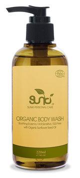 Sunki - Organic Body Wash with Organic Sunflower Seed 220ml