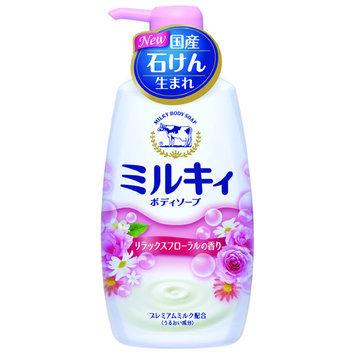 Cow Brand Soap - Milky Body Soap (Rose) 580ml