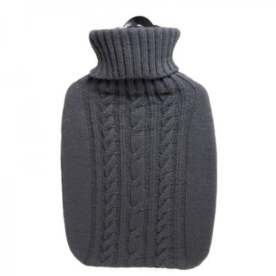 Hugo Frosch - Grey Knitted Hot Water Bag (1.8L) 1 pc