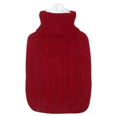 Hugo Frosch - Red Knitted Hot Water Bag (1.8L) 1 pc