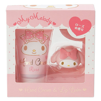 Sanrio - My Melody Hand Cream & Lip Balm Set 2 pcs