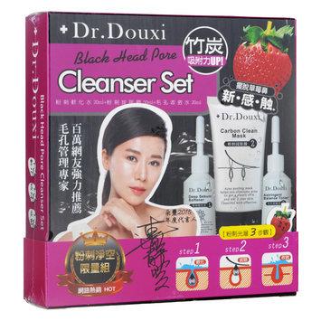 Dr.douxi Dr. Douxi - Black Head Pore Cleanser Set: Deep Sebum Softener 20ml + Carbon Clean Mask 50ml + Astringent Balance Toner 20ml 3 pcs