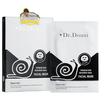 Dr.douxi Dr. Douxi - Premium Skin Repairing Snail Facial Mask 5 pcs