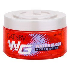Mandom - Gatsby Water Gloss Wet Look Gel (Hyper Solid) (Red) 30g