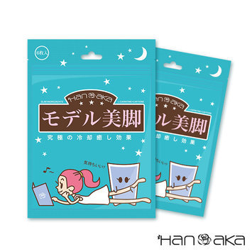 HANAKA - Relaxing Cool Patch (for Leg with Slim Ingredients) 1 set