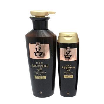 Ryo Total Anti-Aging Shampoo Set: 1x Shampoo 400g + 1x Shampoo 180g 2pcs