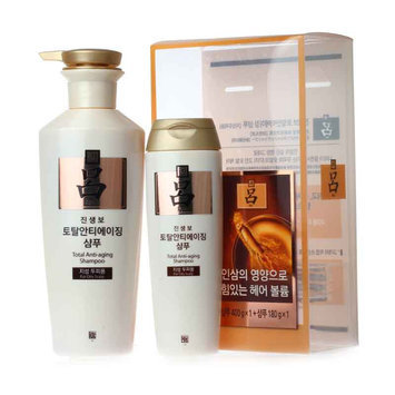 Ryoe - Total Anti-Aging Shampoo (For Dry Scalp) 400g + 180g