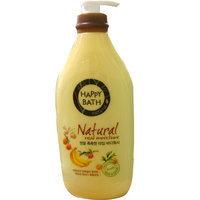 HAPPY BATH - Natural Real Moisture Body Wash (Fruits) 900g