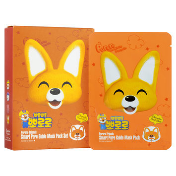 Pororo - Smart Pore Guide Mask Pack Set 10 sheets