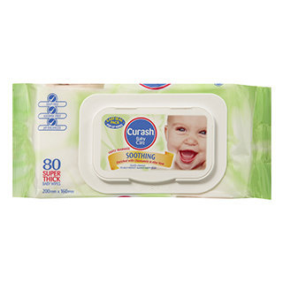 Curash - Soothing Wipes 80 pcs