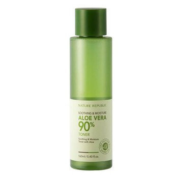 Nature Republic - Soothing & Moisture Aloe Vera 90% Toner 160ml/5.4oz