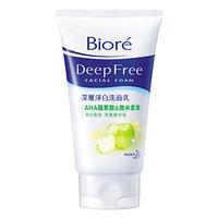Bioré Deep Free Facial Foam (AHA Malic Acid)