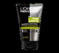 L'Oréal Paris Men Expert Pure & Matte Charcoal Duo Foam