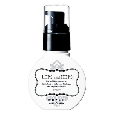 LIPS and HIPS - Body Oil (Spicy) 60ml