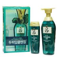 Ryoe - Scalp Deep Cleansing Shampoo Set (Green): Shampoo 400ml + Shampoo 180ml 2 pcs