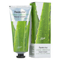 Farm Stay - Aloevera Visible Difference Hand Cream 100ml