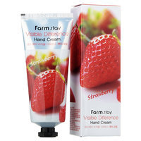 Farm Stay - Strawberry Visible Difference Hand Cream 100g