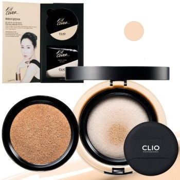 CLUB CLIO kill cover conceal cushion #2-BP SPF45 PA+++ 15g