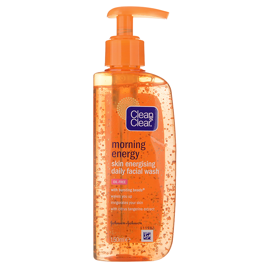 Clean & Clear - Morning Energy Skin Energising Daily Facial Wash 150ml