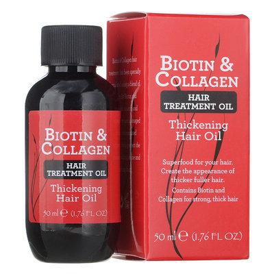 Biotin & Collagen - Hair Treatment Oil Thickening Hair Oil 50ml