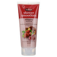 Pampered - Shower Smoothies Exfoliating Soothing (Blend: Strawberry, Raspberry and Pomegranate) 200ml