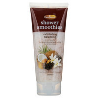 Pampered - Shower Smoothies Exfoliating Balancing (Blend: Coconut, Almond and Vanilla) 200ml
