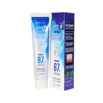KORELABO - Extra Vital Blue Toothpaste 140g x 2 pcs