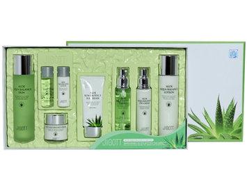 Jigott - Aloe Aqua Balance Skin Care Set 6: Lotion 150ml + Lotion 30ml + Toner 150ml + Toner 30ml + Cream 50ml + Essence 50ml + Eye Cream 50ml + BB Cream 50ml 8 pcs