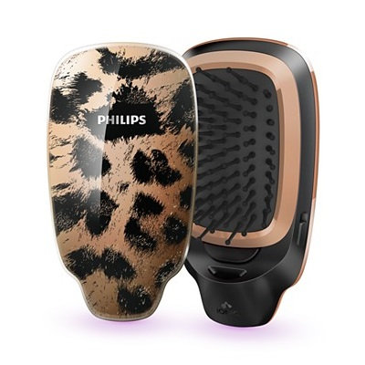 Philips - EasyShine Ionic Styling Brush (#HP4595/70 Black & Gold) 1 pc