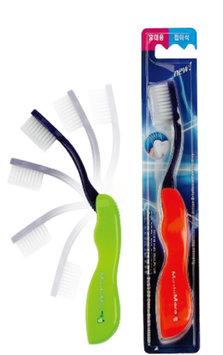 EQMAXON Corp. - MashiMaro Travel Toothbrush (Soft) (Random Color) 1 pc