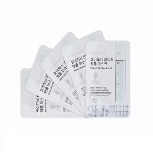 Soo Beaut - Whiten-Vital Ampoule Mask 22ml x 5 pcs