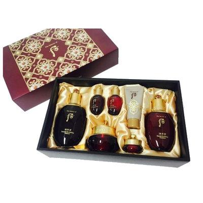The History of Whoo - Jinyulhyang Jinyul Skin Care Set: Balancer (150ml + 20ml) + Lotion (110ml + 20ml) + Cream 30ml + Eye Cream 4ml + Mask 30ml 7 pcs