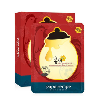 Papa Recipe - Bombee Ginseng Red Honey Oil Mask 10 pcs
