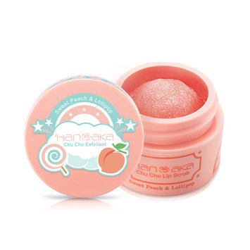 HANAKA - Chu Chu Lip Scrub (Sweet Peach & Lollipop) 15ml