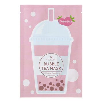 Annie's Way Annies Way - Bubble Tea Mask (Strawberry) 1 sheet