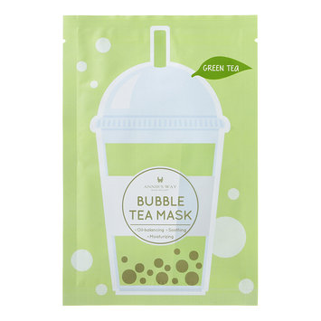 Annie's Way Annies Way - Bubble Tea Mask (Green Tea) 1 sheet