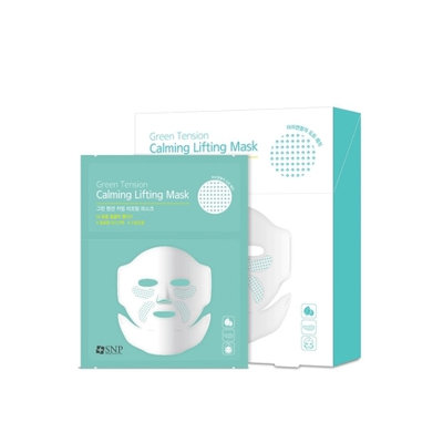 SNP - Green Tension Calming Lifting Mask 5 pcs