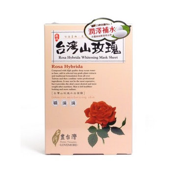 LOVEMORE - From Taiwan Rosa Hybrida Whitening Mask Sheet 5 sheets