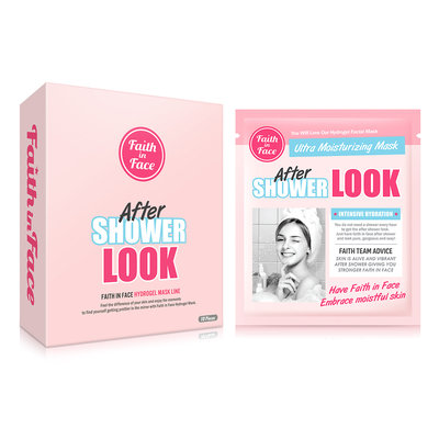 Faith in Face - After Shower Look Hydrogel Mask 10 pcs