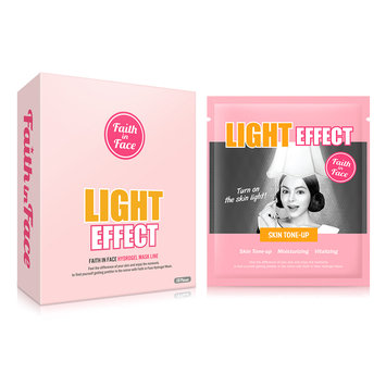 Faith in Face - Light Effect Hydrogel Mask 10 pcs