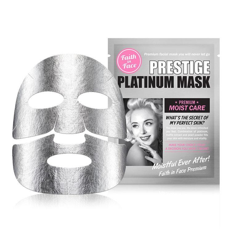 Faith in Face - Prestige Platinum Mask 10 pcs