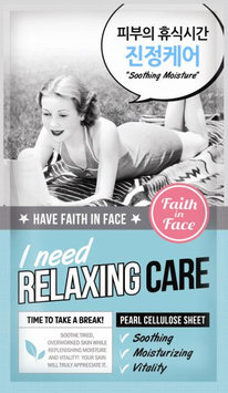 Faith in Face - I Need Relaxing Care Mask 5 pcs