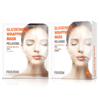 FIX & TOX - Glutathione Wrapping Mask (Relaxing) 5 pcs