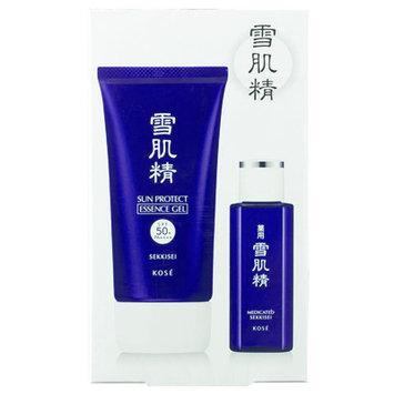Kose - Sekkisei Sun Protect Gel Set: Essence Gel SPF 50+ PA++++ 80g + Lotion 24ml 2 pcs