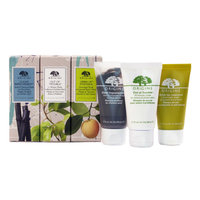 Origins - Mask Set: Charcoal Mask 50ml + 10 Minute Mask 50ml + Overnight Mask 50ml 3 pcs