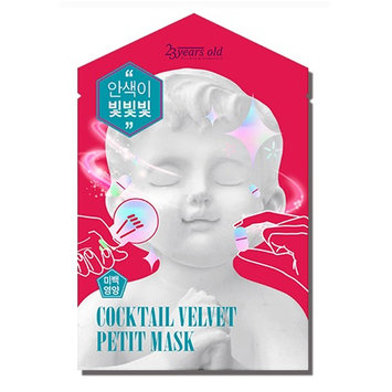 23years old - Cocktail Velvet Petit Facial Mask 1 pc