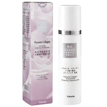 Yukeido - Placenta Collagen Anti-Wrinkle Whitening Cleansing Milk 150g