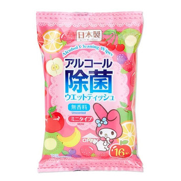 Sanrio - My Melody Alcohol Cleaning Wipes Set 16 pcs x 2