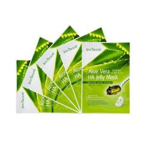 Soo Beaut - Aloe Vera HA Jelly Mask 5 pcs